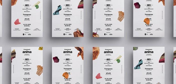 Identidad visual de Anima, el primer álbum de YM