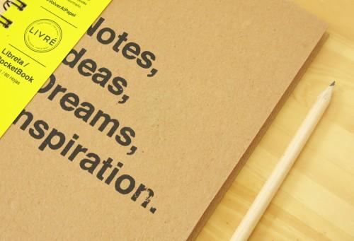 Livré: Paper goods, type and print
