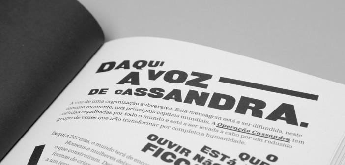 Cassandra, un libro diseñado por atelier d'alves