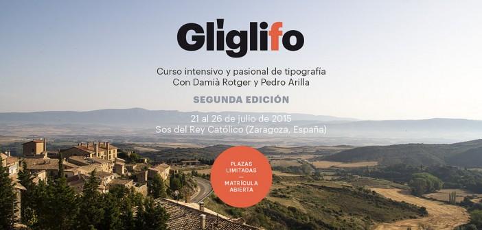 Glíglifo, curso intensivo de tipografía en verano