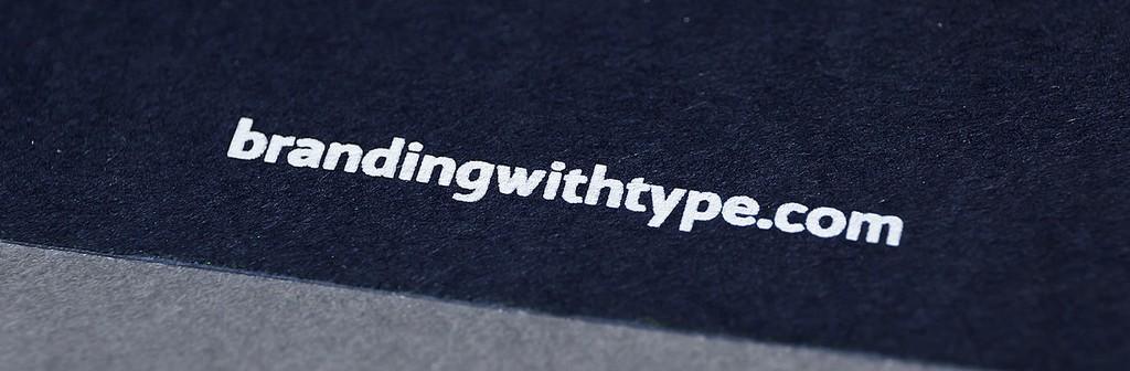 Branding with type, una nueva fundición digital