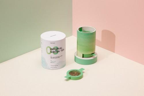 Packaging de Teavana, por Melia Tandonio