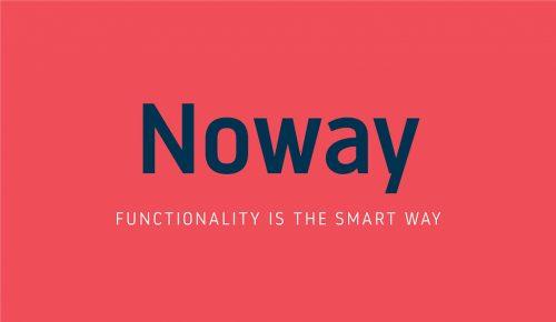 Noway, nueva familia tipográfica diseñada por atipo