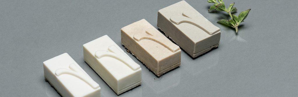 Tipos móviles de jabón
