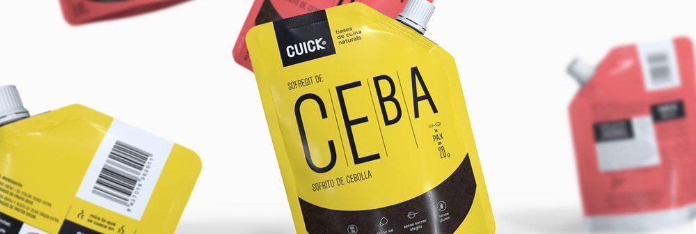 Packaging para Cuick, por Murray