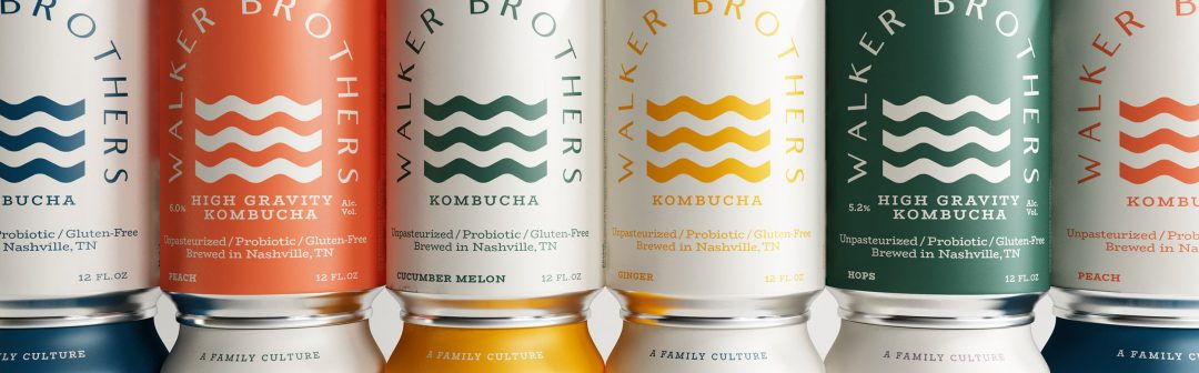 Identidad y packaging de Walker Brothers