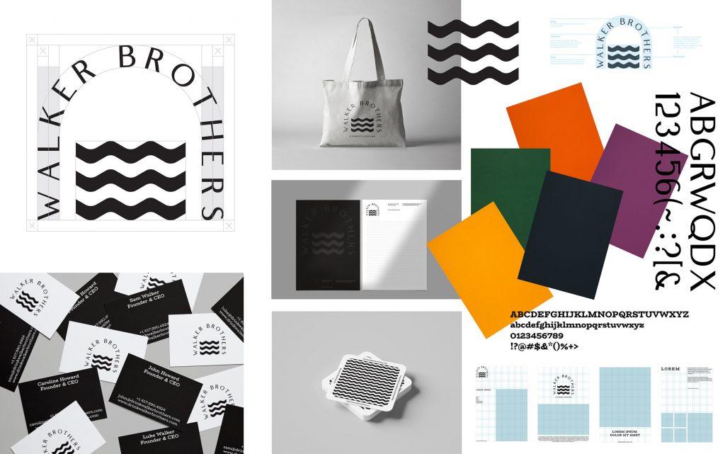 """El estudio neozelandés makebardo ha diseñado esta marca de kombucha, basada en el concepto de """"puente"""" y una estética minimalista."""