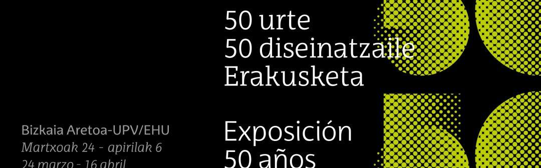 50 años, 50 diseñadores-as