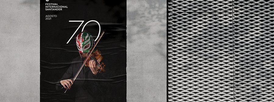 Gráfica para la 70 edición del Festival Internacional de Santander